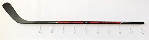 Hockey Stick Hat & Coat Rack Wall Mounted Storage Display