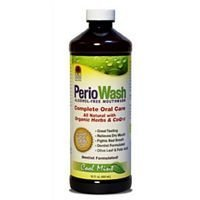 (Nature's Answer Periowash Alcohol-free Mouthwash, Cool Mint, 16-Ounce ( Multi-Pack) by NATURE'S ANSWER)