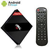 [2018 TOP TV BOX 64GB] EstgoSZ Android 7.1 Nougat 3GB 64GB Smart TV Box Amlogic 64 Bits Octa Core 2.4GHz/5GHz Dual Band WIFI 1000M LAN 4K 3D Bluetooth 4.1 by EstgoSZ