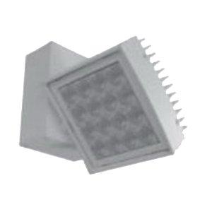 Contour Track Head, 16 X 40 watt LED Lamp, 120 volt, 0.3 amp, 2087 lumens, 50000 hr