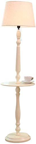 Clasico de la moda Habitacion lampara de pie Habitacion Sala Europea de muchacha de los ninos Mesa caliente de la lampara de la lampara de madera maciza de tela del cuerpo de la lampara de sombra baja