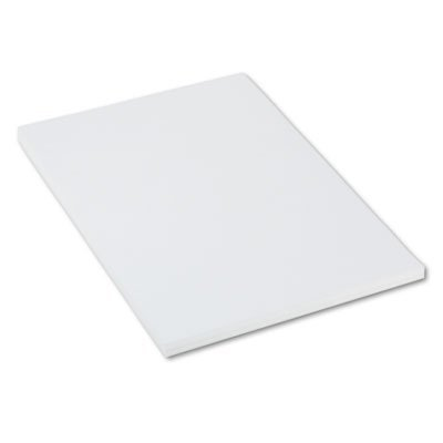 Paper Board Poster (Heavyweight Tagboard, 36 x 24, White, 100/Pack, Sold as 100 Sheet)