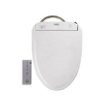 TOTO SW574-01 S350e Non-electric Bidet Seat with ewater , Cotton White - S300e Toilet Seat