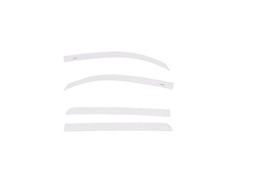 Auto Ventshade 894012-40 Color Match Low Profile Ventvisor Side Window Deflector, 4-Piece Set for 2015-2018 Toyota Tundra CrewMax, Super White