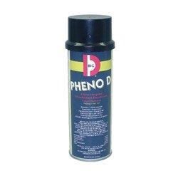 Aerosol Deodorizer (Big D Industries 337 Pheno D Aerosol Antimicrobial Deodorizer, Citrus, 6oz (Case of 12))