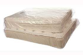 4 Mil Poly Mattress Covers - X-Queen 60 x 12 x 90