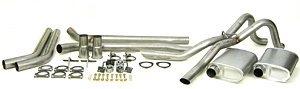 Dynomax Performance Exhaust 89023 64-72 Chev Chevelle, Dual - Thrush Dual Exhaust Kit