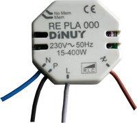 Dinuy RE.PLA.000 - Regulador intensidad 400w incandescente 320w halogena