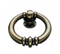 [Top Knobs M175  Newton Ring Pull Bronze] (1.5