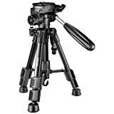 Neewer Mini Travel Tabletop Camera Tripod 24 inches/62 centimeters, Lightweight and Portable Aluminum