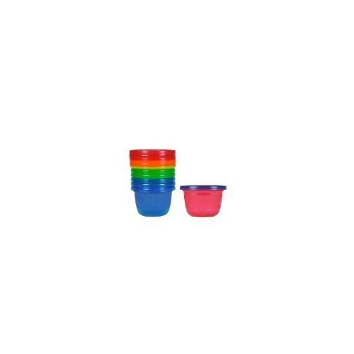 The First Years Take & Toss Snack Cups 6 CT (Pack of 16)