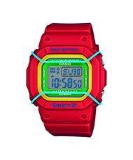 Casio Baby-G Digital Dial Red Resin Quartz Ladies Watch BGD501-4BCR
