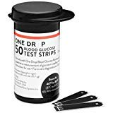 One Drop Blood Glucose Test Strips 50CT