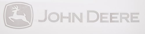 Chroma 8058 John Deere White Rear Window Graphix Decal
