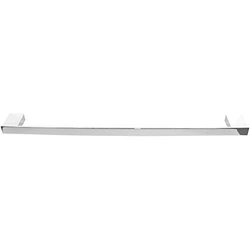 Gedy Lounge Square Towel Bar In Polished, Chrome, 24''