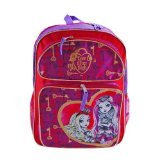 Mattel Ever After High 16 Inch Large Backpack School Bag- Raven Queen and Apple White