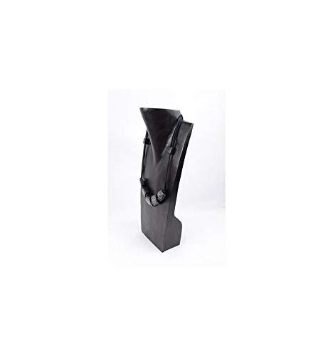 35 cm hoch Schmuckb/üste Halskettenst/änder aus  Massivholz