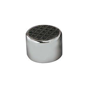Lokar SPO6072 Chrome Steel Dimmer Cover with Rubber ()