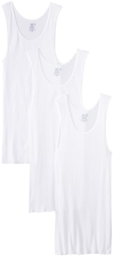 Fruit of the Loom Men's Big Man White A-Shirt, 3XB (Fruit Top The Tank Of Loom 3x)