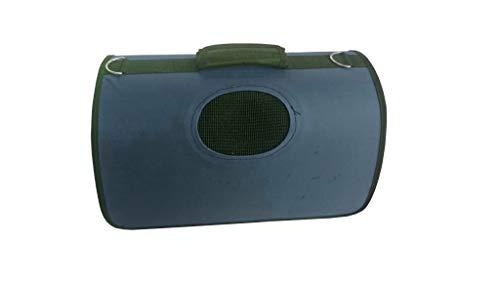 Lalia Hundebox Katzenbox Haustier Transportbox klappbare Autobox 40x30x20 cm gepolstert Katzen Henkel Tragetasche weich…