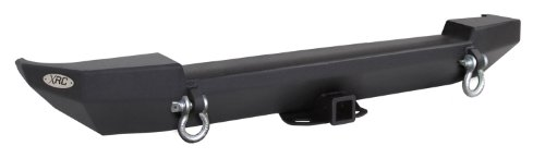- Smittybilt 76653 XRC Textured Black Rear Bumper for Jeep Wrangler/Wrangler Unlimited