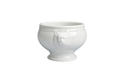 BIA Cordon Bleu 900178S4SIOC Soup Lions Head Bowl, White