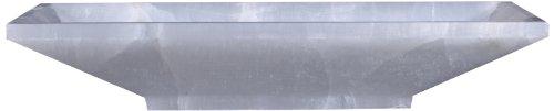 Virtu USA VST-2031-BAS Ira Vessel Sink with Natural White Onyx Marble