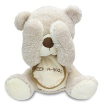 Animated Peek-A-Boo Bear Plush Singing Stuffed Animal Plays Peek A Boo Fun