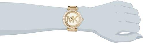 Michael Kors Damen Analog Quarz Uhr mit Edelstahl Armband MK5784 5
