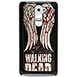 Classic Bloody Logo The Walking Dead Phone Case Cover for LG G2 TWD Special Design