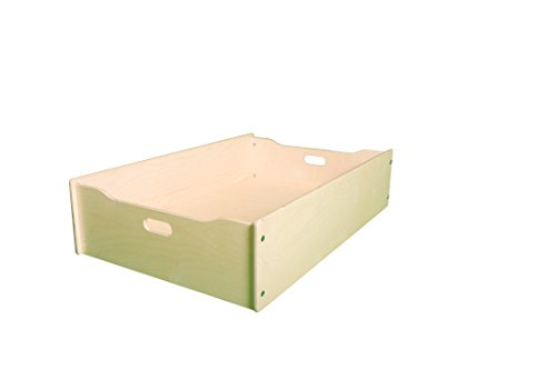 - Little Colorado Single Storage Drawer, Unfinished