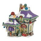 Department 56 North Pole Village Jingle and Jangle's Bells Lit House, 7.48 inch