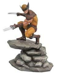 DIAMOND SELECT TOYS APR182171 Marvel Gallery, Wolverine PVC Diorama Figure, 9 inches, Multicolor