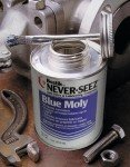 Blue Moly Compounds, 8 oz Brush Top Can