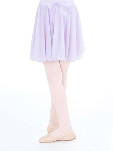 Capezio Big Girls' Children's Collection Circular Pull-On Skirt, Lavender, Large