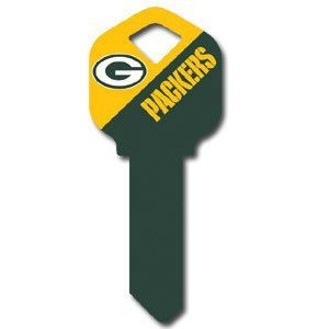GREEN BAY PACKERS NFL KWIKSET HOUSE OR OFFICE KEY