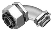 Bridgeport 473-LTI2 1-1/4-Inch 90-Degree Liquid-Tight Insulated Connector, 10-Pack - Liquid Tight 90 Elbow