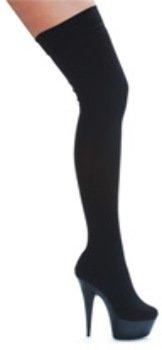 Usa Grossist-26208599-ellie Sko Ski Til 6 M / 2-plattformen Boot W / Strekning Lycra Svart Syv