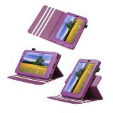 Poetic Dura Book Leather Case for the Google Nexus 7 Android Tablet by Asus Purple (Automatically Wakes and Puts the Nexus 7 to Sleep)(3 Year Manufacturer Warranty From Poetic)