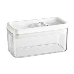 Felli Flip Tite Acrylic Food Storage Rectangular Canister, 33 oz. (1)