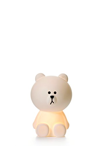 White LED Dimmable Brown Bear Lamp with Dimmer, Small - 12