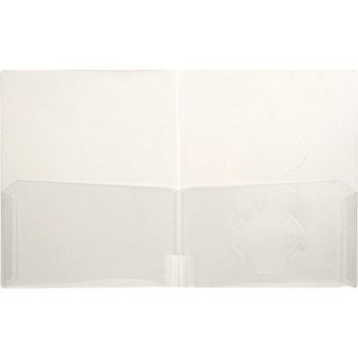 LIO91120CRCT - Lion Office Products, Inc CLEAR-LINE 2-Pocket Plastic Folder by Lion Office Products, Inc