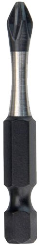 Milwaukee 48-32-4762 Shockwave 2-Inch Power Bit Phillips #2 , 25-Pack
