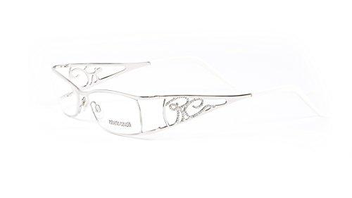 Roberto Cavalli Antiope Eyeglass Farmes 53mm Silver/White (Roberto Silver Lens Cavalli)