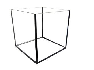 Aquarium Masters 10 Inch Rimless Nano Cube Aquarium, by, For Marine Fish, Invertebrates and Tropical Fish! AM11442 by Aquarium Masters