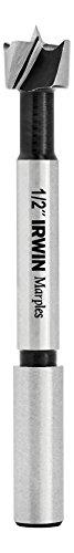 Irwin Tools 1966896 Irwin Marples Wood Drilling Forstner Bit, 1/2