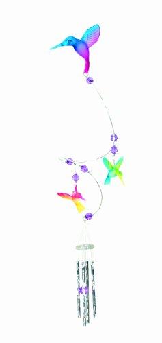 Spoontiques Swirl Hummingbird Wind Chime