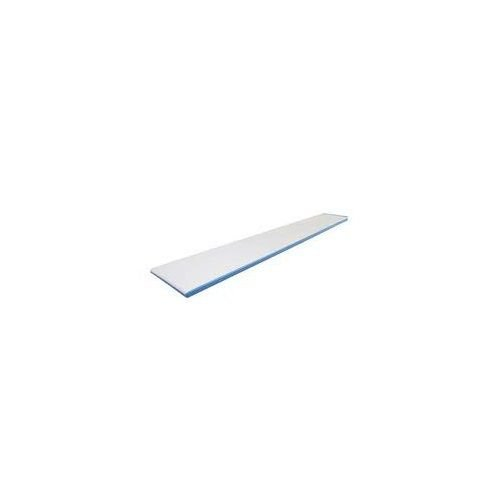 Interfab 6' Techni-Beam Diving Board - Blue with White Top Tread - NO Holes by Inter-Fab