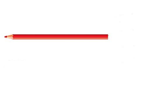 Lápis de Cor Jumbo, CIS, 48.8500, Multicor, pacote de 12