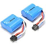 UDI 2 Pieces Replacement battery for UDI RC UDI001 Venom Speed Boat 3.7V 600mAh Li-ion
